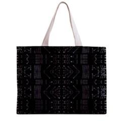 Black and White Tribal  Tiny Tote Bag