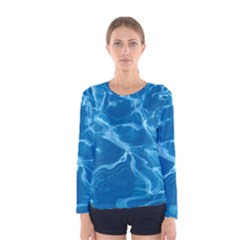 water  Long Sleeve T-shirt (Women) by vanessagf
