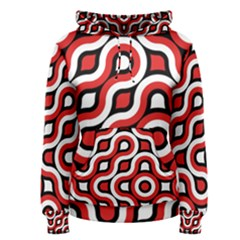 Waves And Circles Pullover Hoodie