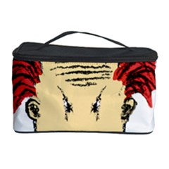Evil Clown Hand Draw Illustration Cosmetic Storage Case by dflcprints