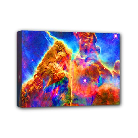 Cosmic Mind Mini Canvas 7  X 5  (framed) by icarusismartdesigns