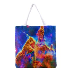 Cosmic Mind Grocery Tote Bag by icarusismartdesigns
