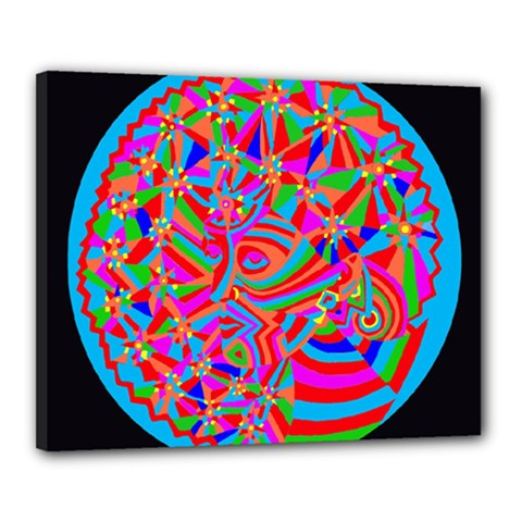 Magical Trance Canvas 20  X 16  (framed) by icarusismartdesigns