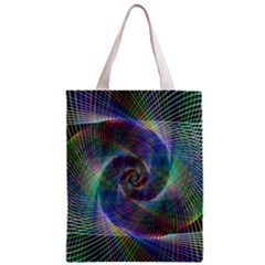 Psychedelic Spiral Classic Tote Bag by StuffOrSomething