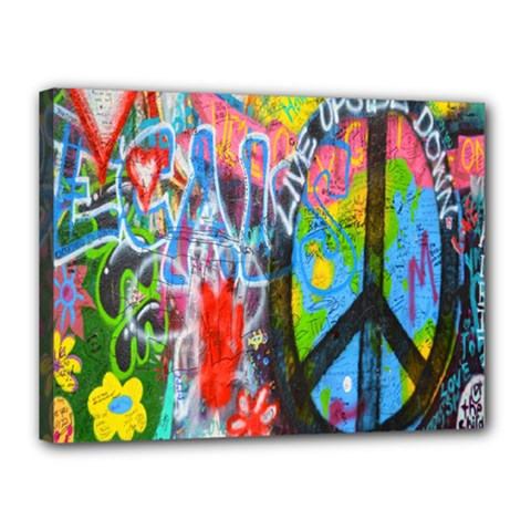 The Sixties Canvas 16  X 12  (framed) by TheWowFactor