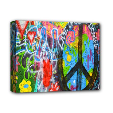 The Sixties Deluxe Canvas 14  X 11  (framed) by TheWowFactor