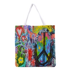 The Sixties Grocery Tote Bag by TheWowFactor