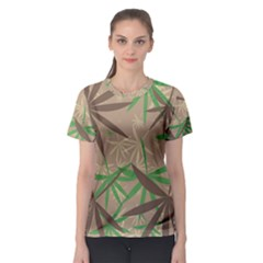 Leaves Women s Sport Mesh Tee