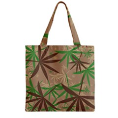 Leaves Grocery Tote Bag by LalyLauraFLM
