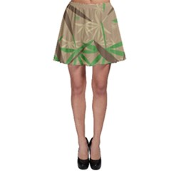 Leaves Skater Skirt by LalyLauraFLM