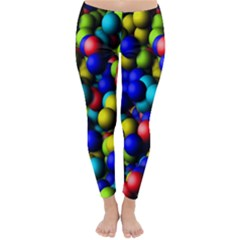Colorful Balls Winter Leggings