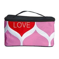 One Love Cosmetic Storage Case by Kathrinlegg