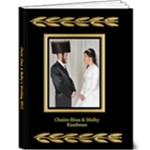 Malky CS Wedding - 9x12 Deluxe Photo Book (20 pages)