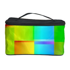 Colorful Gradient Shapes Cosmetic Storage Case by LalyLauraFLM