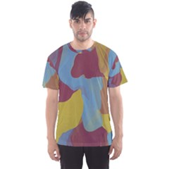 Watercolors Men s Sport Mesh Tee by LalyLauraFLM