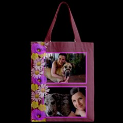 Zipper Classic Tote Bag