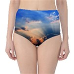 sunset sky bottoms - High-Waist Bikini Bottoms
