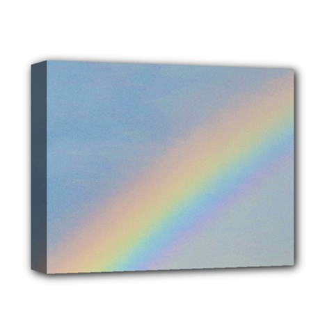 Rainbow Deluxe Canvas 14  X 11  (framed)