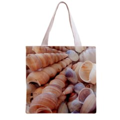 Sea Shells Grocery Tote Bag by yoursparklingshop