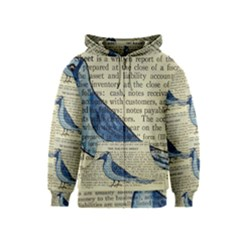 Bird Kids Zipper Hoodie by boho