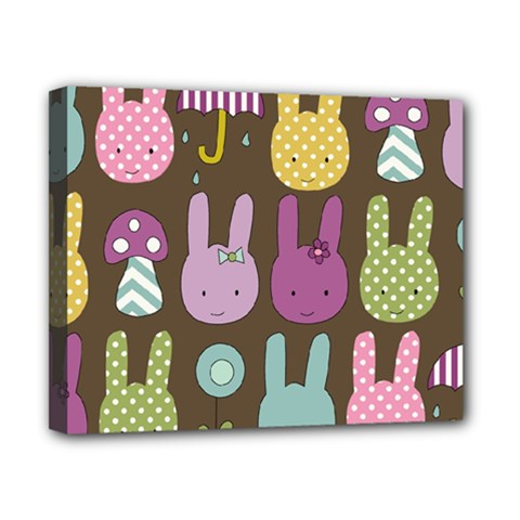 Bunny  Canvas 10  X 8  (framed) by Kathrinlegg