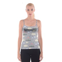 Garden In The Sky Spaghetti Strap Top by Kathrinlegg