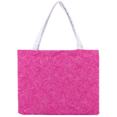 Abstract Stars In Hot Pink Tiny Tote Bag by StuffOrSomething