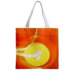 Orange Yellow Flame 5000 Grocery Tote Bag by yoursparklingshop