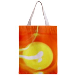 Orange Yellow Flame 5000 Classic Tote Bag by yoursparklingshop