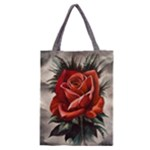 Red Rose Classic Tote Bag
