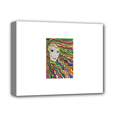 Inspirational Girl Deluxe Canvas 14  X 11  (framed) by sjart