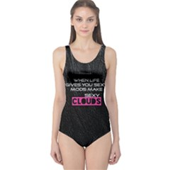 When Life Gives You Sexy Mods  Women s One Piece Swimsuit by OCDesignss