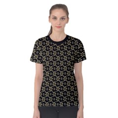 Angels Skull Pattern Women s Cotton Tee
