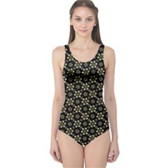 Angels Skull Pattern Women s One Piece Swimsuit by dflcprintsclothing