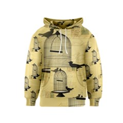 Victorian Birdcage Kid s Pullover Hoodie by boho