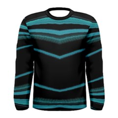 Dark Abstract Print Men s Long Sleeve T Shirt by dflcprintsclothing