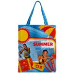 summer - Zipper Classic Tote Bag