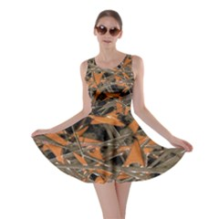 Intricate Abstract Print Skater Dress by dflcprintsclothing