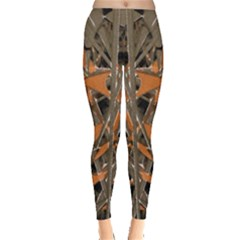 Intricate Abstract Print Leggings  by dflcprintsclothing