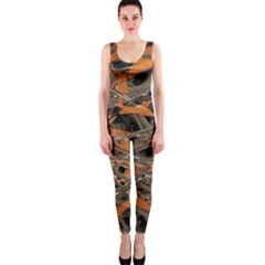 Intricate Abstract Print Onepiece Catsuit by dflcprintsclothing