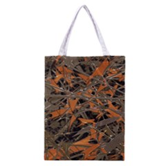 Intricate Abstract Print Classic Tote Bag by dflcprints
