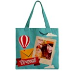 travel - Grocery Tote Bag