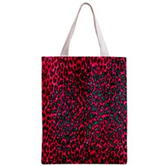 Florescent Pink Leopard Grunge  Classic Tote Bag