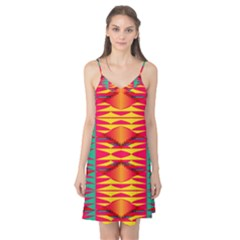 Colorful Tribal Texture Camis Nightgown
