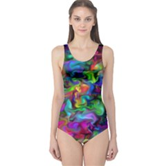 Unicorn Smoke One Piece Swimsuit