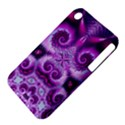 Purple Ecstasy Fractal Apple iPhone 3G/3GS Hardshell Case (PC+Silicone) View4