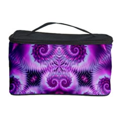 Purple Ecstasy Fractal Cosmetic Storage Case by KirstenStar