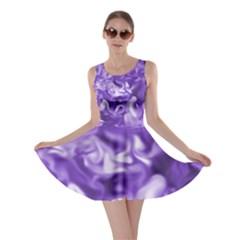 Lavender Smoke Swirls Skater Dress by KirstenStar