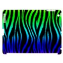 Rainbow Zebra Apple iPad 3/4 Hardshell Case (Compatible with Smart Cover) View1