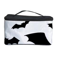 Deathrock Bats Cosmetic Storage Case by ArtistRoseanneJones